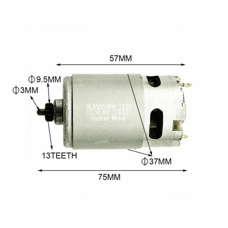 High-quality Durable Brand 14.4 V/13 Teeth Motor For Bosch GSR 14.4-2-li PSR14.4 Li-2