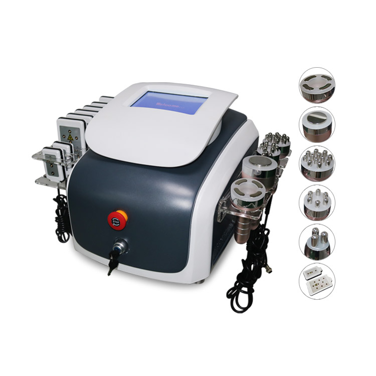 Best Selling 6 in 1 RF Face Lifting Cavitation Body Slimming Machine|Personal Care Appliance Accessories| |  - title=