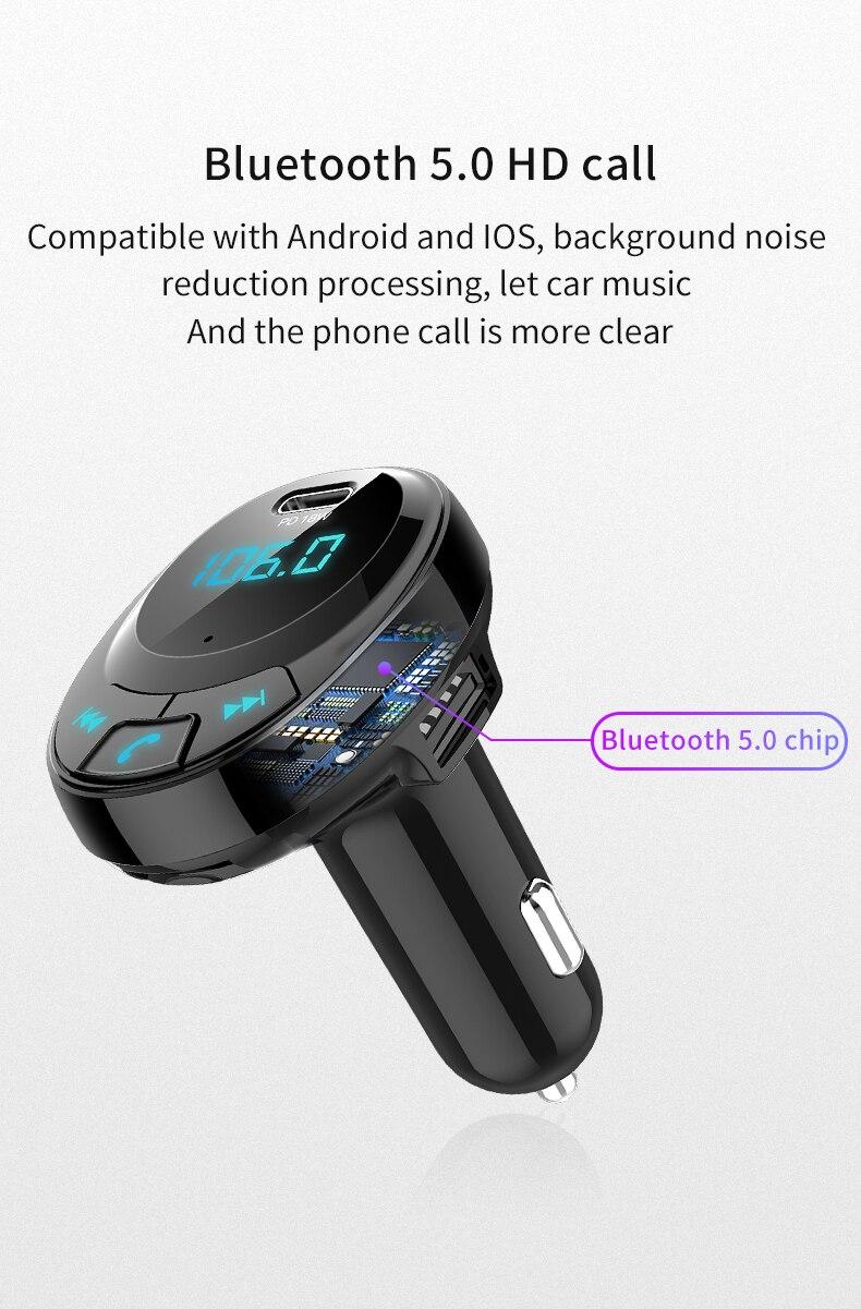 bluetooth pd 18 w carregador de telefone