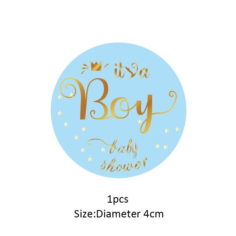 Baby Shower Teddy GS Fête D/'Anniversaire Autocollant Sweet Cône 12-35 étiquettes merci