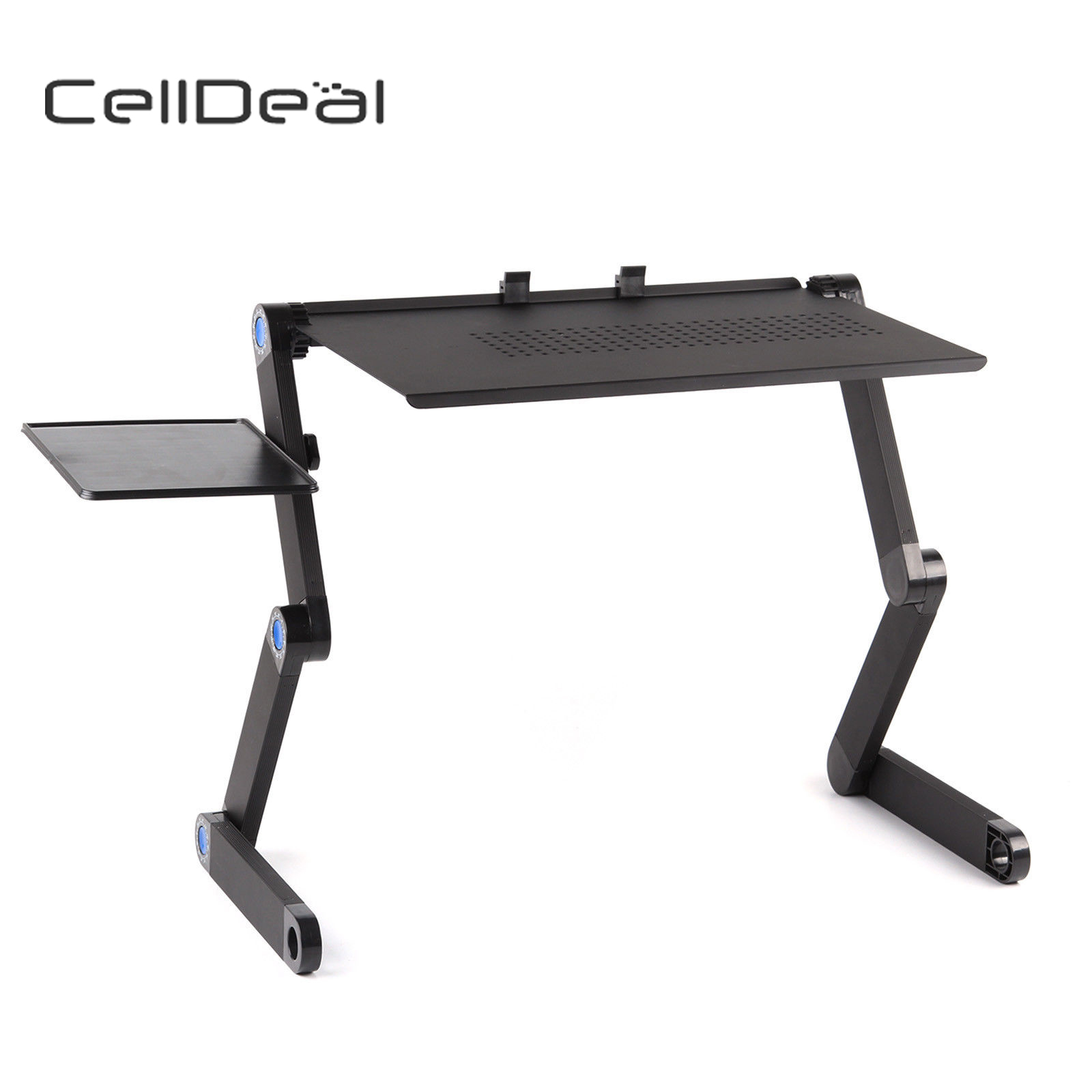Folding Laptop Furniture Stand-Tray Bed Desk Computer-Table for Useful