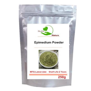 Horny koza chwastów-czysty Epimedium w proszku tanie i dobre opinie COMBO CN (pochodzenie) Brokat 250g 500g 1000g Pure Epimedium Powder 1 Bag BODY