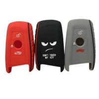 New silicone key fob cover case protect skin hood for BMW F10 F20 F30 Z4 X1 X3 X4 M1 M2 M3 E90 1 2 3 5 7 SERIES Remote keyless