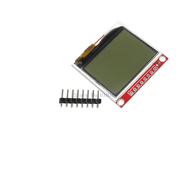 A20-- 3.3V Upgrades 5110 LCD Module Display Monitor HX1230 96x68 Picture Text Display