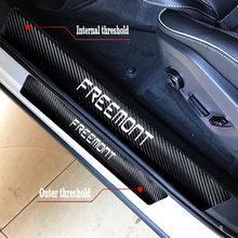 Para Fiat Panda Punto Freemont Bravo 2 500 500X 500L Tipo 4 Pçs/set Protetor Auto Pedal Bem-vindo Adesivos E Decalques Acessórios