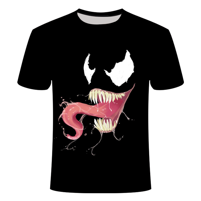 "Новинка, Мужская Футболка Venom, футболка ""Марвел"", 3D принт, футболка s, мужская, женская, Повседневная футболка, футболка для фитнеса, футболки, топы - Цвет: TX-156"