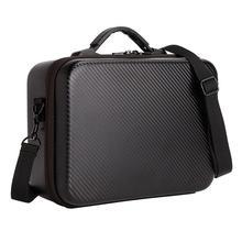 FFYY saklama çantası DJI Mavic 2 Pro Zoom Drone taşıma çantası PU omuzdan askili çanta çanta için koruyucu çanta sırt çantası Drone kutusu parçası