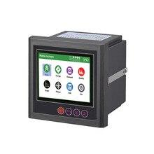 Analisador de qualidade multifuncional, analisador de qualidade de potência de fator de potência de energia kwh ampere voltagem de w