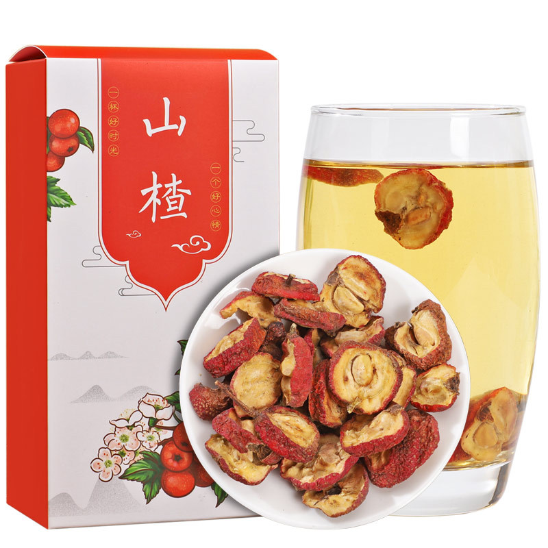125g New Goods with Seeds Hawthorn Flake Flower Fruit Tea Hawthorn Drying Hawthorn Flake Hawthorn Dry Soaking Water 4
