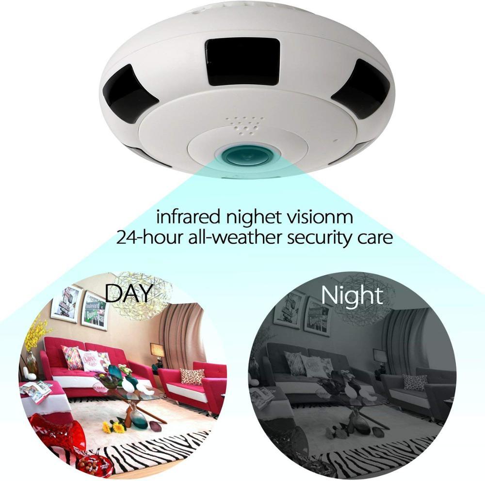 Kruiqi-Mini caméra IP WIFI HD 3 mp | Sécurité sans fil, pour la maison, Vision nocturne, détection de mouvement, Mini caméscope, boucle, enregistreur vidéo - 4