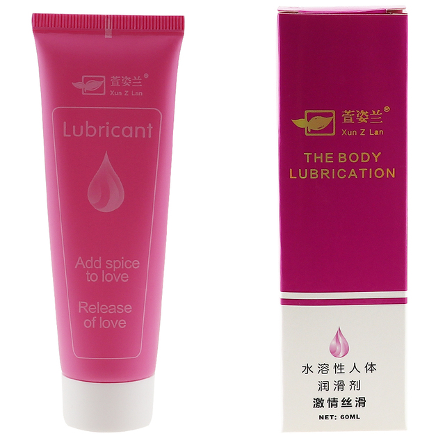 60ml Intimate Lubricant for Anal Vagina Water Soluble Fisting Lubrication Massage Oil Anal Lube Sexo Sex Aphrodisiac for Women