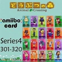 Пересечение животных подлинных данных новые горизонты игры Марио карты для NS переключатель 3DS игра набор NFC карт Series4 301-320 матовый материал
