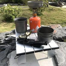 Small Table Portable Outdoor Folding Table Light Aluminum Alloy Camping Picnic Table Garden Table