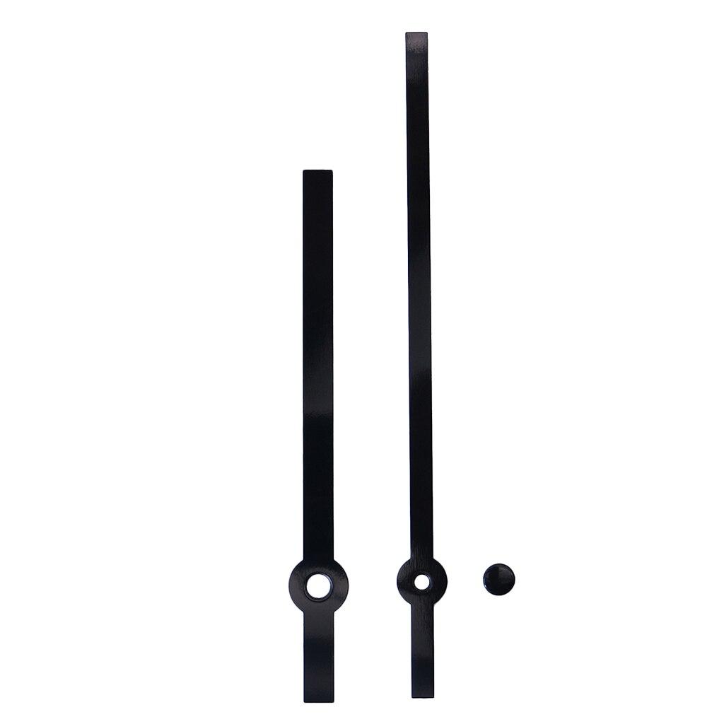 Black Quartz DIY Silent Wall Clock Movement Mechanism Repair Accessories Kit