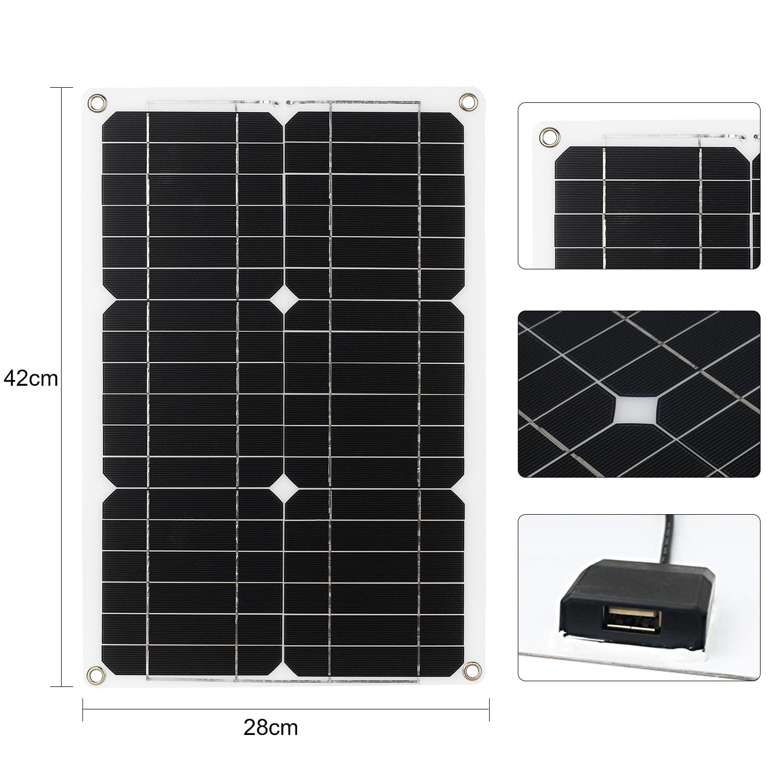 kit de painel solar 180w 12v profissional 04