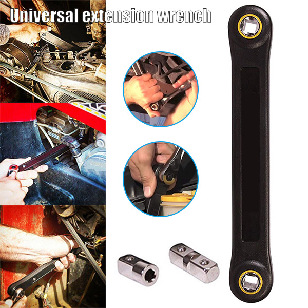 """Universal DIY 3//8/"""" Extension Wrench Do It Yourself DIY Automotive TR Tools USA"""