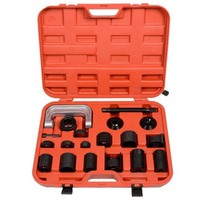 21Pcs Ball Joint Kit Auto Repair Ball Joint Removal Tool Installing Master Adapter Ball Joint Puller Auto Replacement Parts