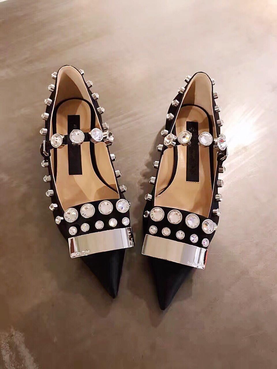apontou sapatos planos baotou único sapatos femininos