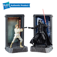 Hasbro Star Wars 40th Anniversary Black Titanium Series 3.75-Inch DARTH VADER HAN SOLO Collection Toy Model Gift