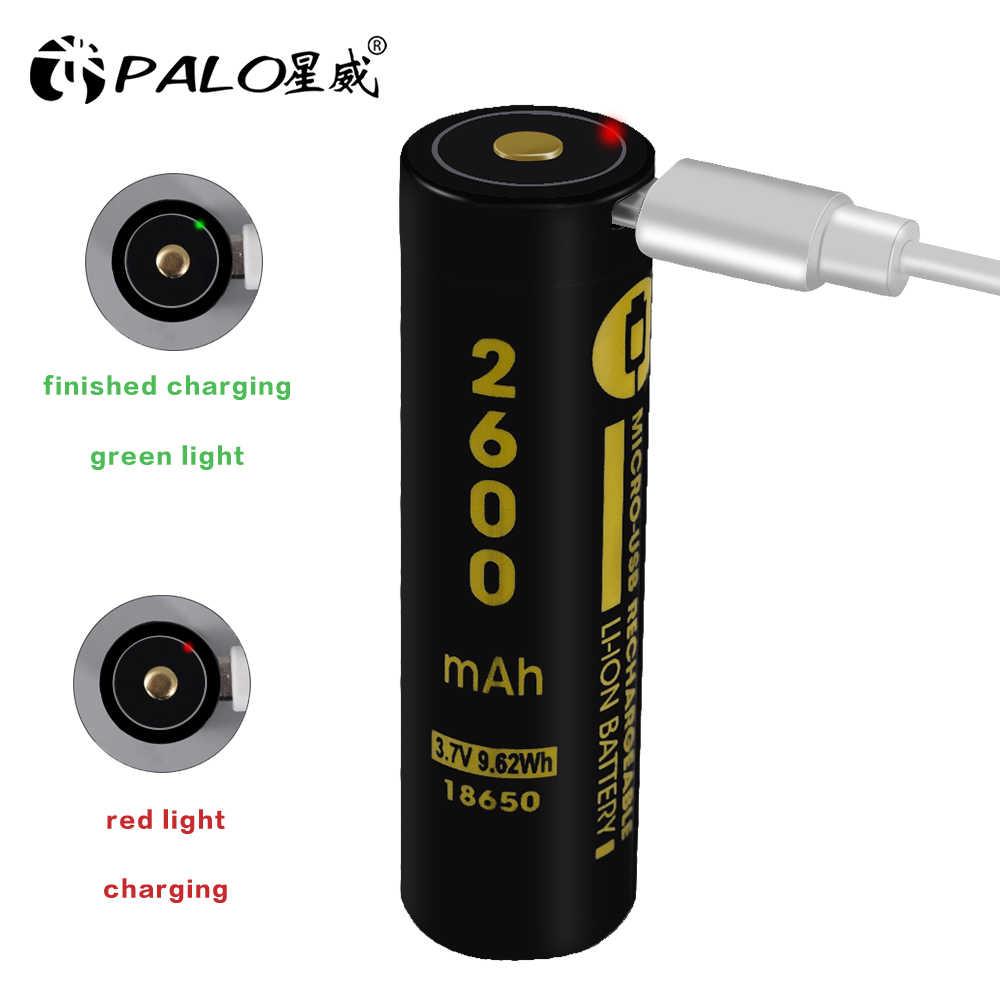 USB 3.7 فولت 18650 3500 مللي أمبير ليثيوم أيون بطارية يو اس بي قابله لإعادة الشحن LED مؤشر ضوء تيار مستمر-شحن + USB سلك ل مضيا الشعلة e-السيجار