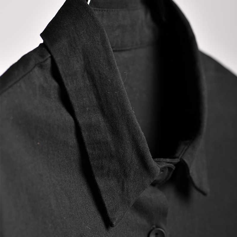MICOCO W2380 versión coreana de alta cintura cuerda de tiro Delgado joker fino largo cazadora abrigo grande Mujer
