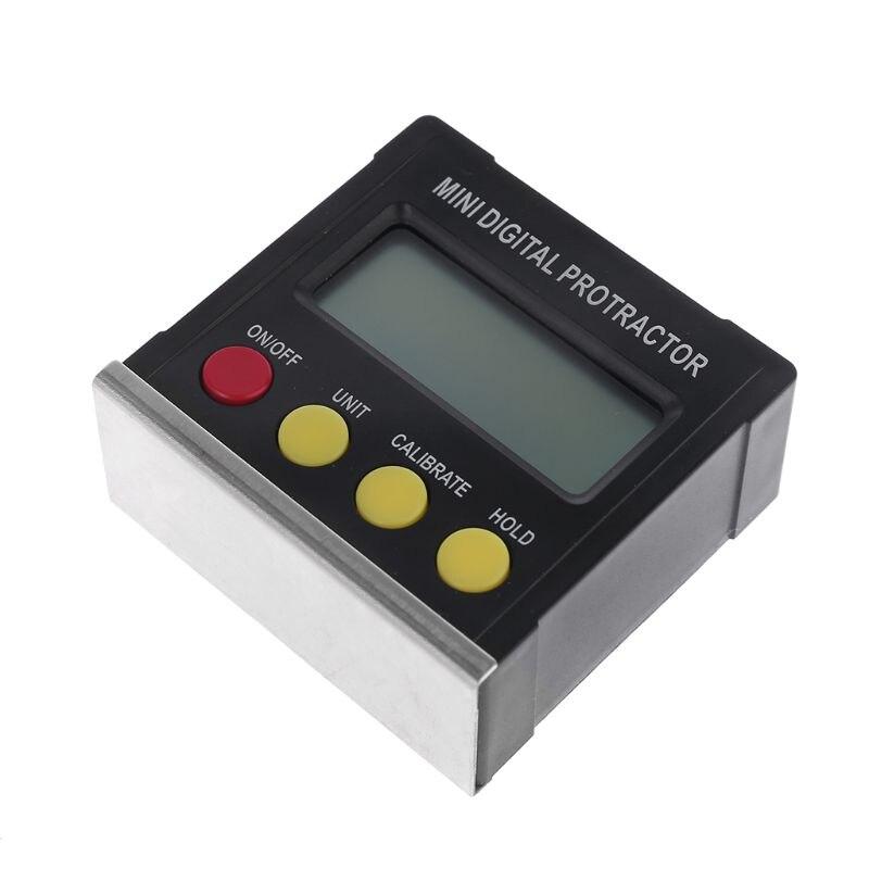 360 graus digital transferidor inclinômetro eletrônico nível