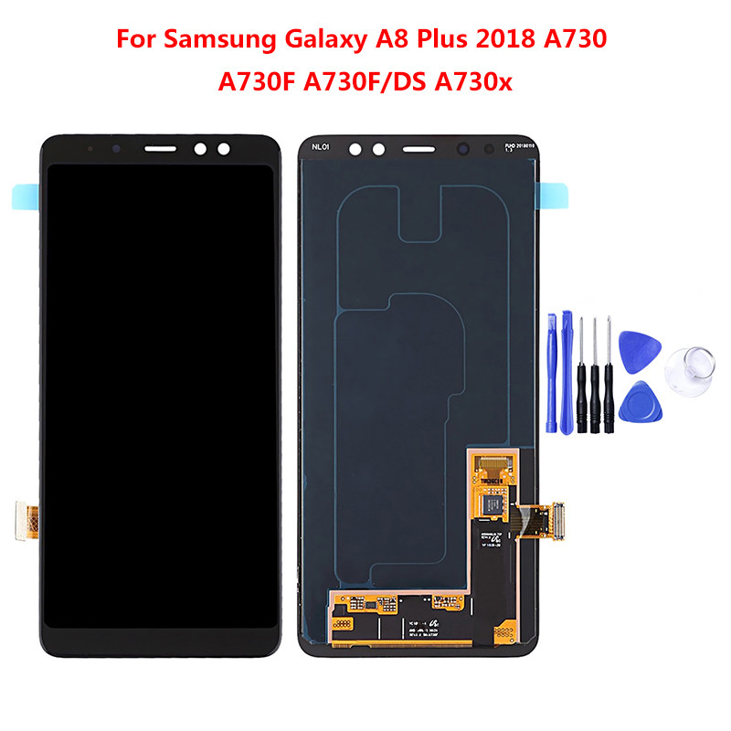 For <font><b>Samsung</b></font> <font><b>Galaxy</b></font> A5 <font><b>A7</b></font> A8 A520 A530 A720 A730 <font><b>LCD</b></font> Touch <font><b>Screen</b></font> Digitizer Assembly Replacement part image
