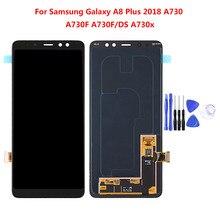 Для Samsung Galaxy A5 A7 A8 A520 A530 A720 A730 ЖК сенсорный экран дигитайзер в сборе Запасная часть