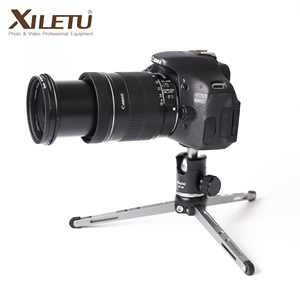 Image 1 - XILETU MT26+XT15 High Bearing Desktop Bracket Mini Tabletop Tripod and Ball Head For DSLR Camera Mirrorless Camera Smartphone
