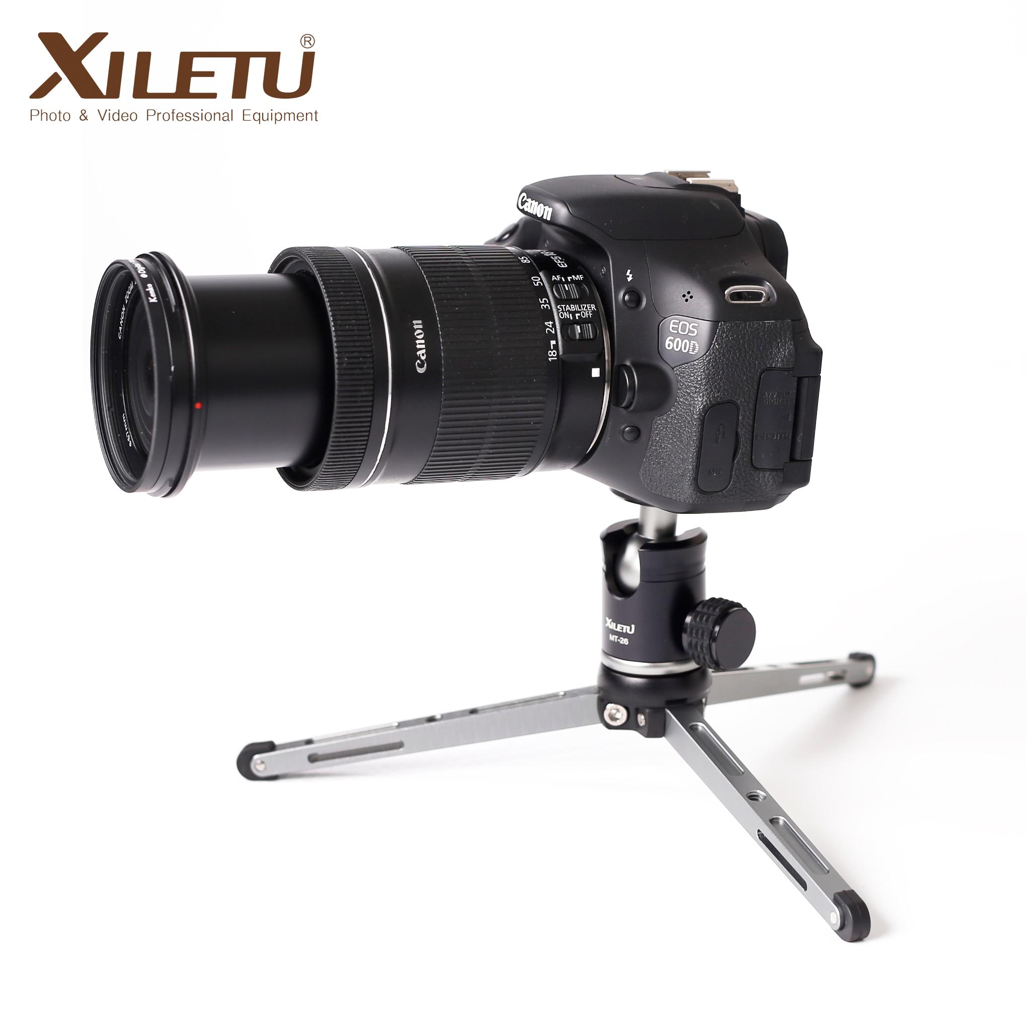 """MT-26 360 ° Mini Cabezal de bola 1//4/"""" tornillo de montaje Soporte para Cámara Videocámara"""