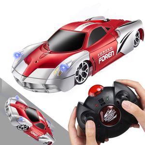 2.4G Remote Control Toy Car Wall Climbing RC Car Racing Car Toys Climb Rotating Stunt Toy Car Model Christmas Gift for Kids