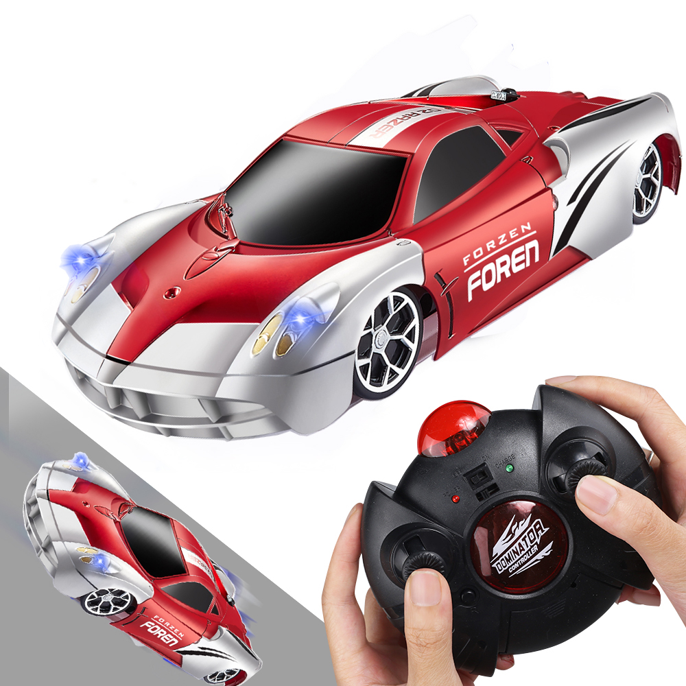 RC Car Racing Car Toys Climb Ceiling Across the Wall Rotating Stunt Remote Control Toy Car Model Christmas Gift for Kids