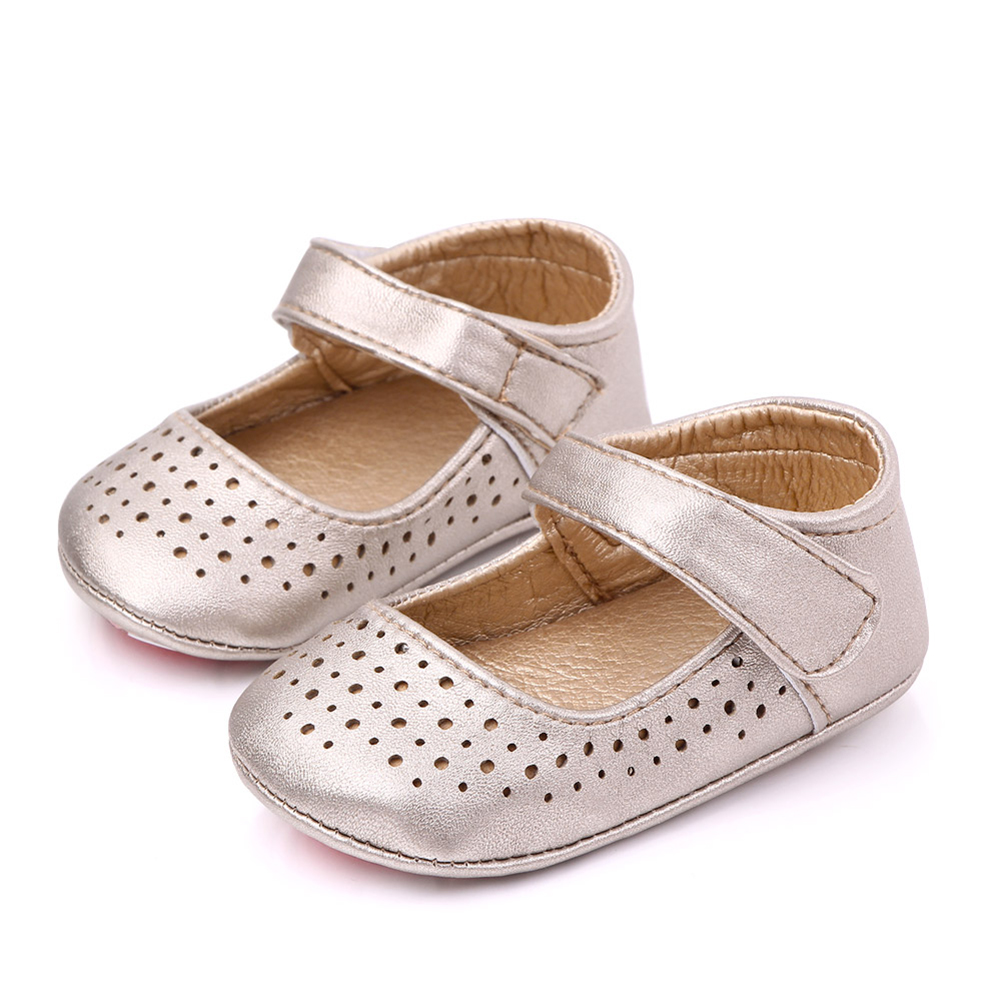 0-12M Toddler Baby Girl Anti-Slip Casual Hollow  Anti-Slip Casual Sneakers Toddler Soft Soled Walking Shoes