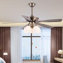 Европейский стиль элегантный ретро потолочный вентилятор с огнями