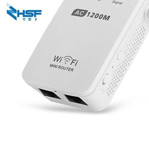 Image 5 - AC1200M Wireless Relay Wifi Signal Amplifier Router 5G High Power Wall Crossing Expander Factory