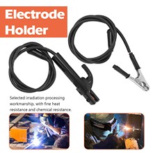 Clamping-Tool Electrode-Holder-Stick Welders Ground-Clamp-Set Welding-Machine And Solder-Leads-Kit