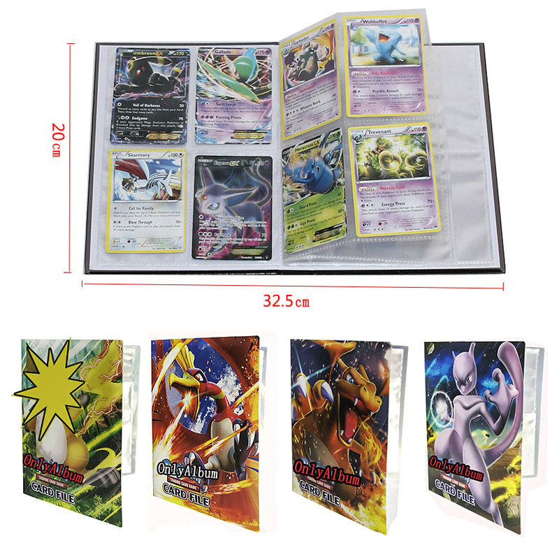 Takara Tomy Pokemon Cards 240pcs Holder Album Toys For Kids Collection Album Book Playing Trading Card Game Pokemon Go