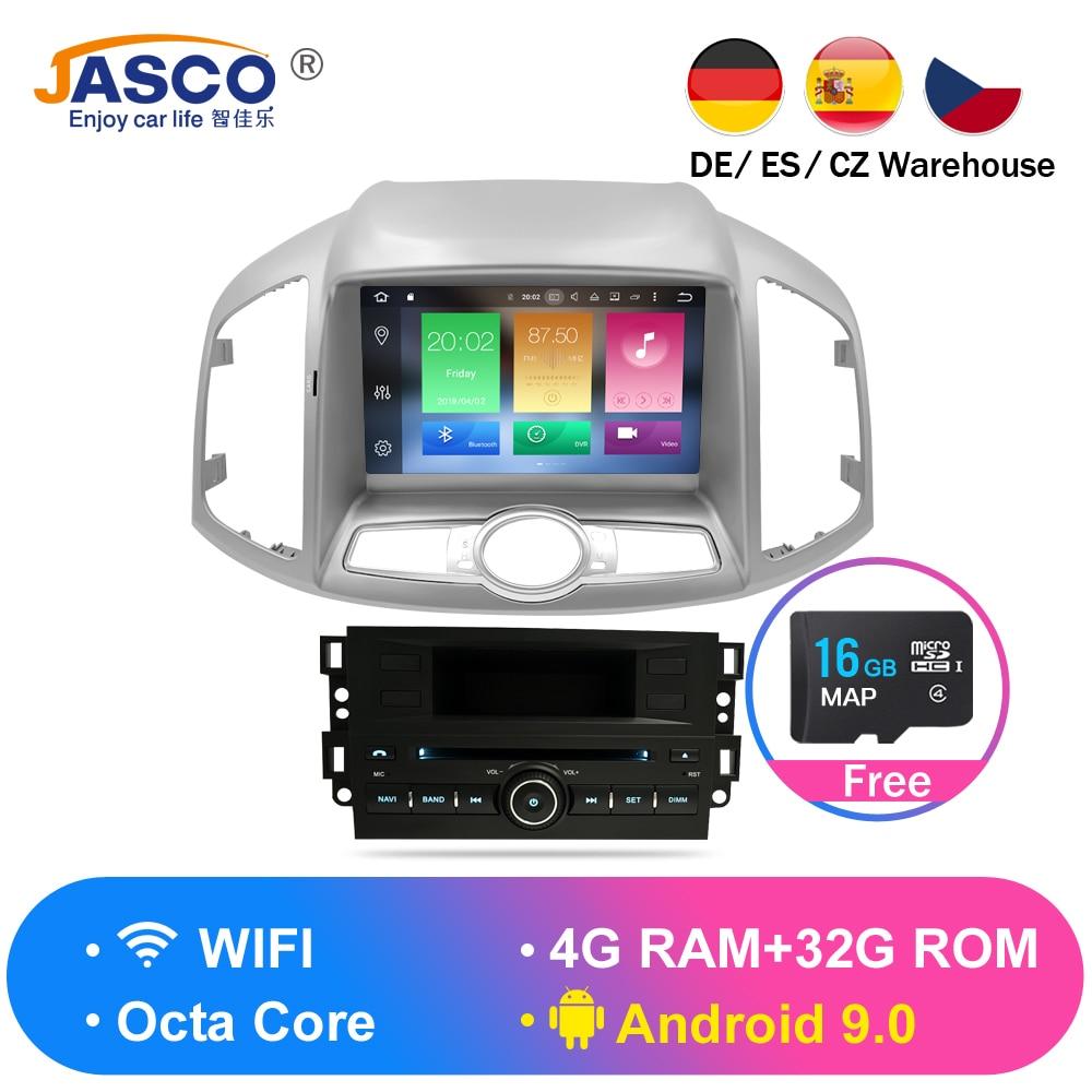4G RAM Android 9.0 Estéreo Do Carro DVD Para Chevrolet Captiva Epica 2012 2013 2014 2015 Auto Rádio de Navegação GPS multimídia de Áudio
