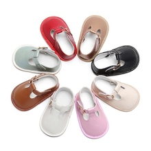 Hot Newborn Baby Shoes Girl Solid Toddler First Walkers Booties Cotton Comfort