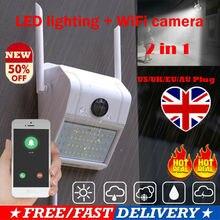 Yeni 1080P 2 IN 1 IP kamera + bahçe lambası açık CCTV HD WIFI kablosuz IR kamera güvenlik ev daire