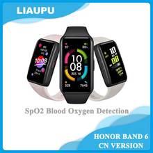 Honor – Bracelet connecté Band 6 SpO2, écran couleur AMOLED 1.47