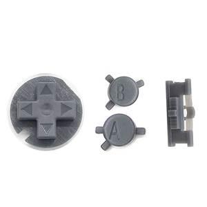 Image 3 - JCD 10 ensemble de boutons colorés ensemble de remplacement pour Gameboy couleur pour GBC Console de jeu bouton marche/arrêt claviers A B D Pads bouton