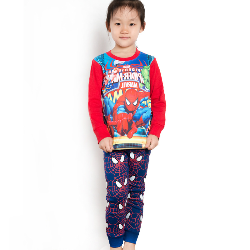 Foreign Trade Cartoon Children Clothing Home Clothes Europe And America Cartoon Childrenswear Direct Selling CHILDREN'S Suit Bab