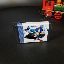 The Ultimate 1000 in 1 EDMD Remix MD Game Cartridge for USA/ Japanese /European SEGA GENESIS MegaDrive Console