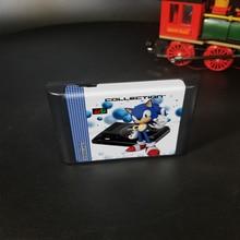 Ultimate 1000 In 1 EDMD Remix MDเกมสำหรับUSA/ญี่ปุ่น/ยุโรปSEGA GENESIS MegaDrive Console