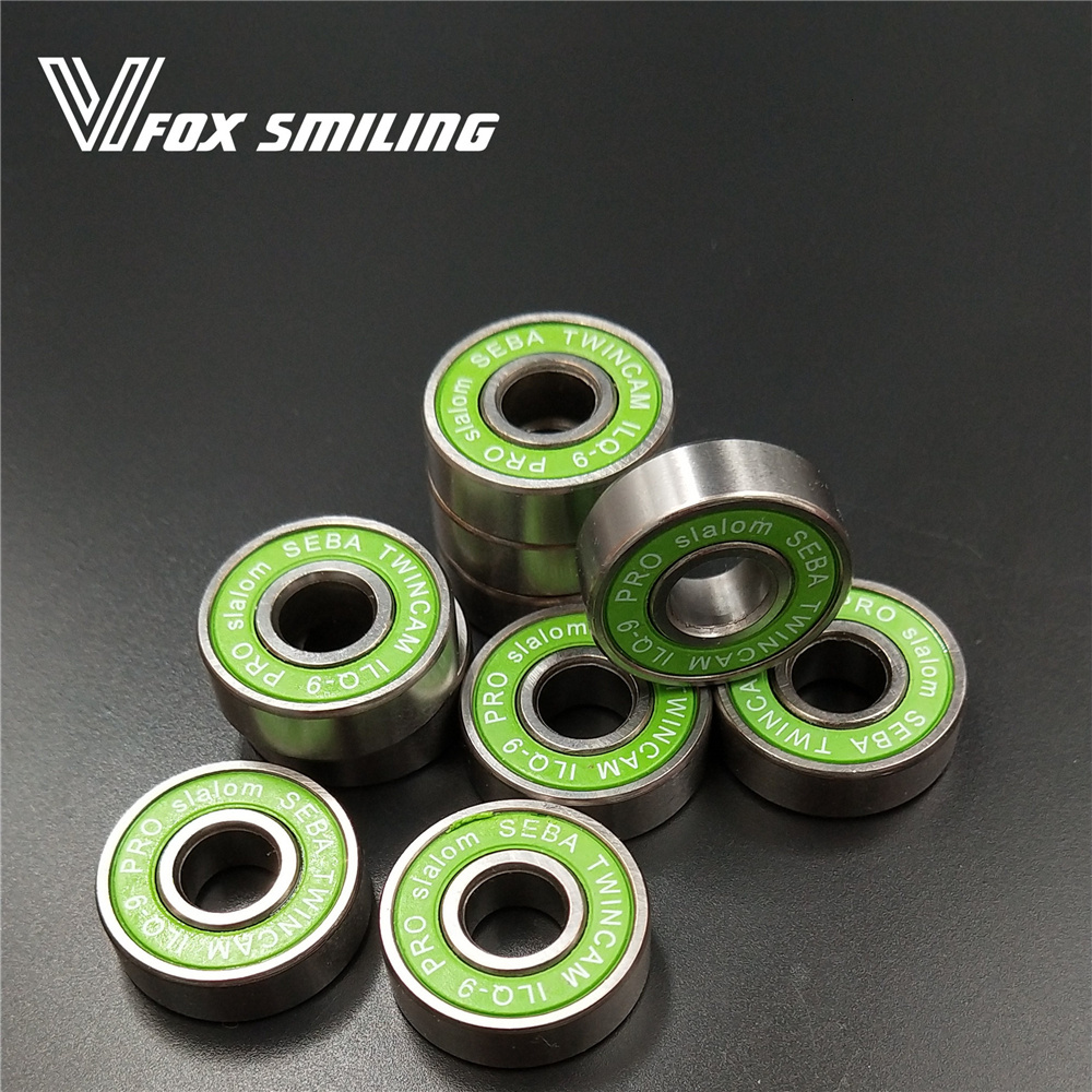 8 Pieces ILQ-9 Miniature Ball Radial Ball Bearings Good Quality Skating Bearings