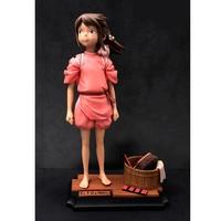 Anime Spirited Away Doll Ogino Chihiro Miyazaki Hayao GK Statue Resin Action Figure Collection Model Toy M3047