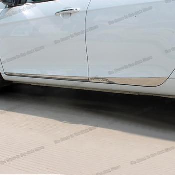 цена на Lsrtw2017 Stainless Steel Car Window Edge Anti-scratch Strip for Geely Emgrand Ec7 2009-2018 2010 2011 2012 2013 2014 2015 2016