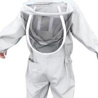 フルボディ養蜂服プロ養蜂家蜂保護養蜂スーツセーフティベール帽子ドレスすべてのボディ機器