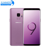 Galaxy S9 Original Samsung 4G Android Mobile Phone 4G RAM 64G ROM Octa core 5.8'' 12MP Dual Card Fingerprint NFC Smartphone